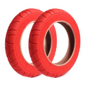Pneu 10 pouces rouge Xiaomi M365 / PRO / 1S / Essential